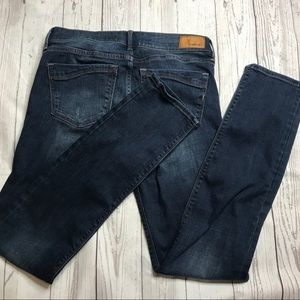 Express Skinny Mid Rise Stretch Jeans F1-131